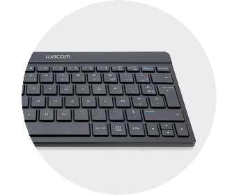 FPO wacom mobil stuido overview customize keyboard